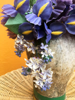 Vintage Flower Iris Headdress