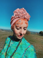 *LIMITED EDITION* Baby Pink Matte Sequin Turban