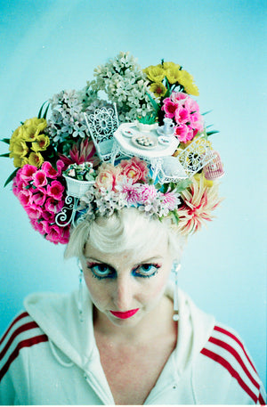Garden Party Vintage Flower Headdress