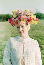 Bespoke Flower Crown - Vintage flower blossom