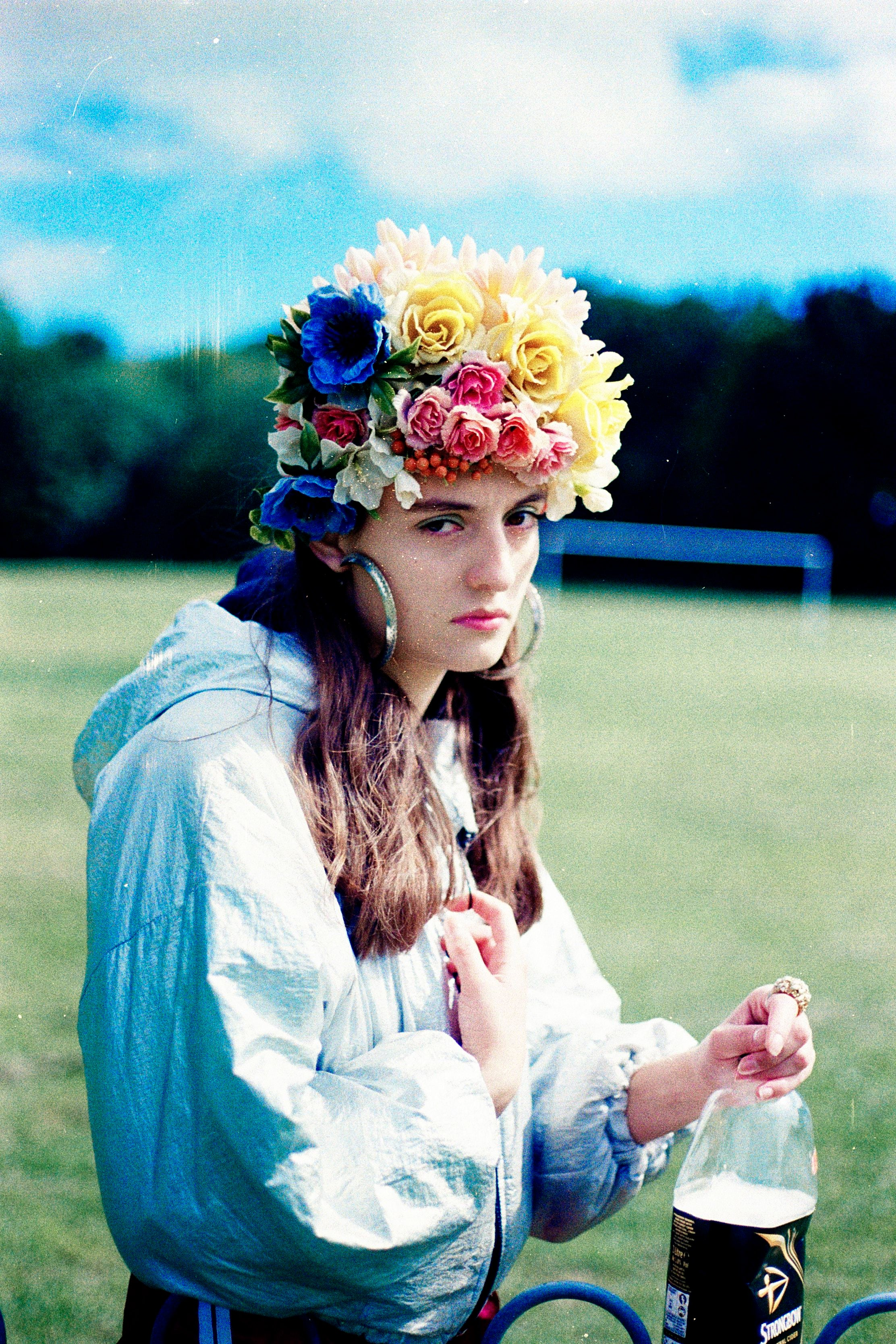 Vintage Summer Flower Headdress