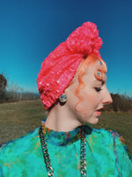 *LIMITED EDITION* Neon Pink Turban
