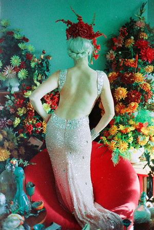 Vintage Marilyn Monroe Rose Diamond Dress