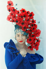 Roll Up Roll Up Retro Raffle: Fumbalinas Poppies Headdress!!!
