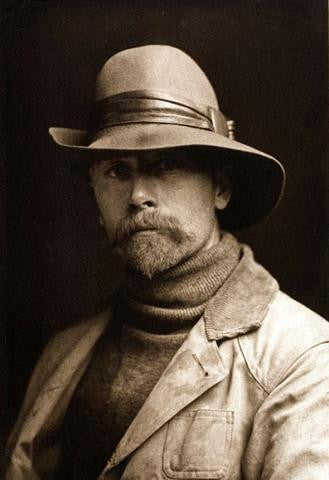 Edward Curtis Self Portrait from CrookedWood