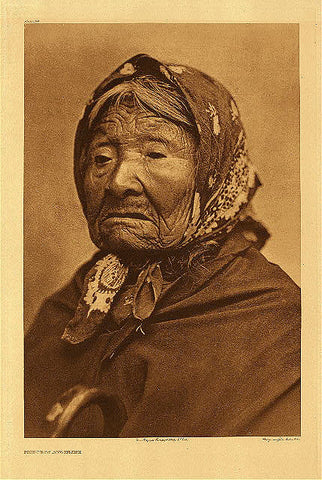 Princess Angeline by Edward Curtis from CrookedWood