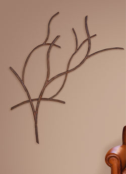 custom iron branch wall mural