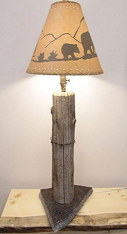 Homestead Fence Post Table Lamp No. 063
