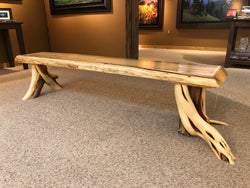 Beetle Kill Pine Benches