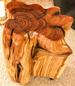 Juniper Stump End Table by CrookedWood