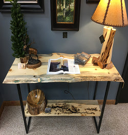 Lodgepole Pine Console Table No. 065