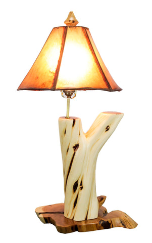 Rustic Juniper Table Lamp