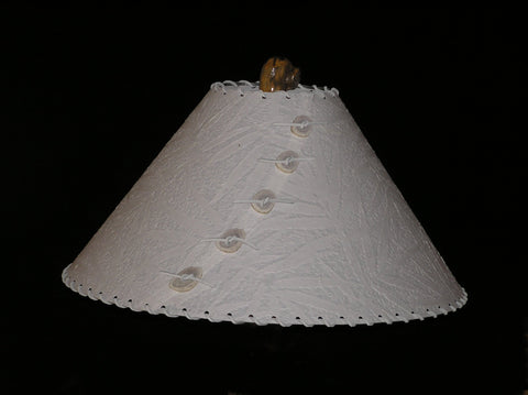 Bamboo Leaves Lamp Shade - CrookedWood - TheCrookedWood