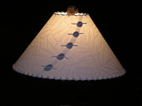 Bamboo Leaves Lamp Shade