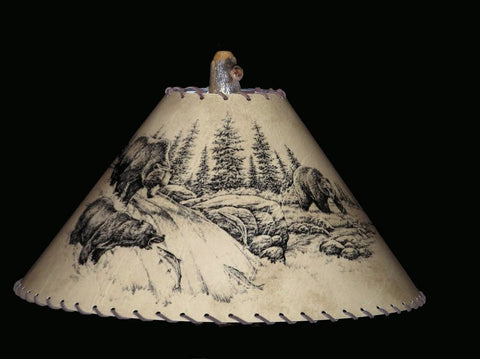 Bears Lamp Shade - CrookedWood - TheCrookedWood
