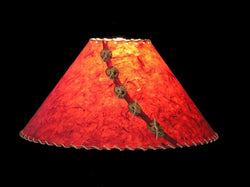 Brick Red Lamp Shade