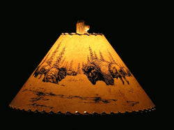 Buffalo Lamp Shade