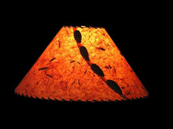 Burnt Sierra Lamp Shade