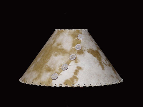 Camel Pinto Lamp Shade - CrookedWood - TheCrookedWood