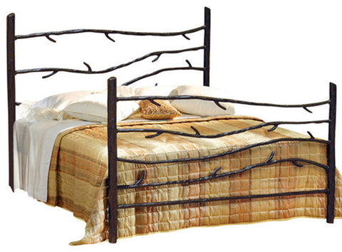 Wrought Iron Woodland Bed from CrookedWood
