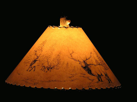 Elk Lamp Shade
