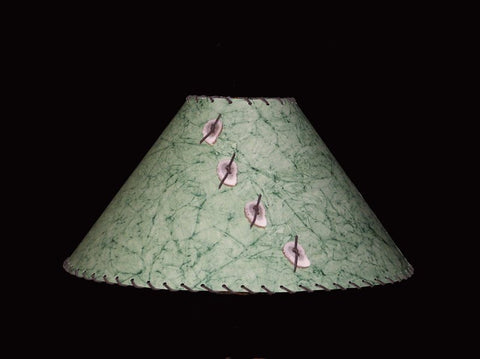 Marbeled Jade Lamp Shade - CrookedWood - TheCrookedWood