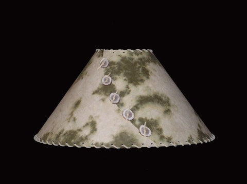 Olive Pinto Lamp Shade - CrookedWood - TheCrookedWood