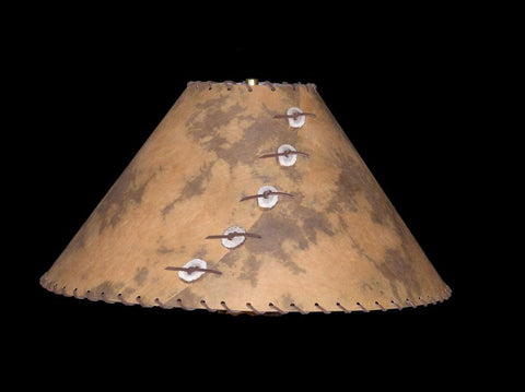 Rust & Brown Lamp Shade - CrookedWood - TheCrookedWood