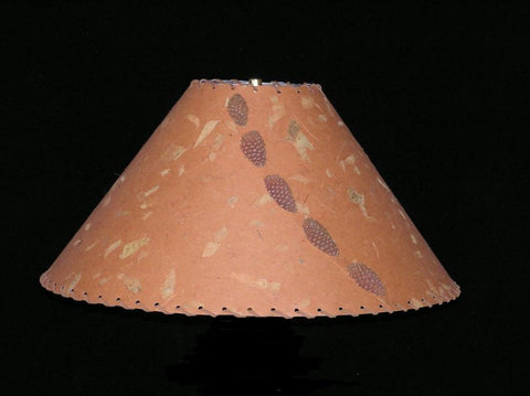 Rust Mango Lamp Shade - CrookedWood - TheCrookedWood