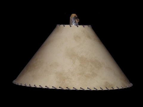 Shadow Elk Lamp Shade - CrookedWood - TheCrookedWood