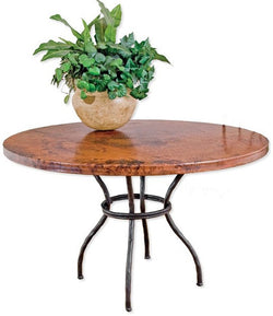 Woodland Handmade Wrought Iron Dining Table from CrookedWood