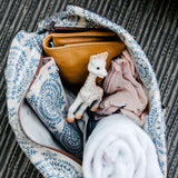 Nappy Bag - Shelly Beach - Masala on Linen