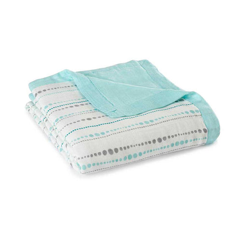 Bamboo Dream Blanket - Azure Beads