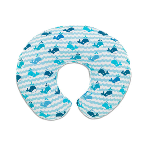 Boppy Nursing Pillow - Blue Whales