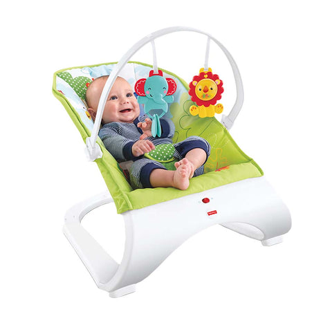 Rainforest Friends Comfort Curve Bouncer