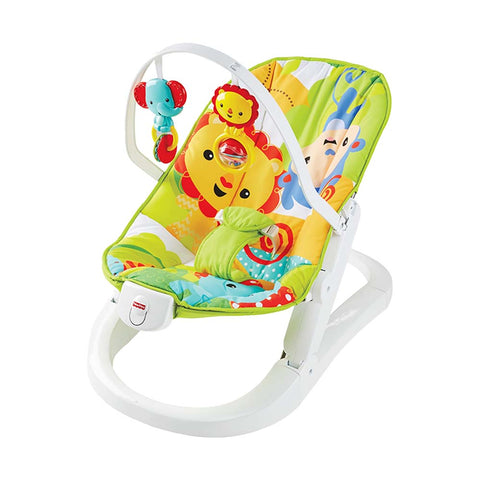 Rainforest Friends Fun 'n Fold Bouncer