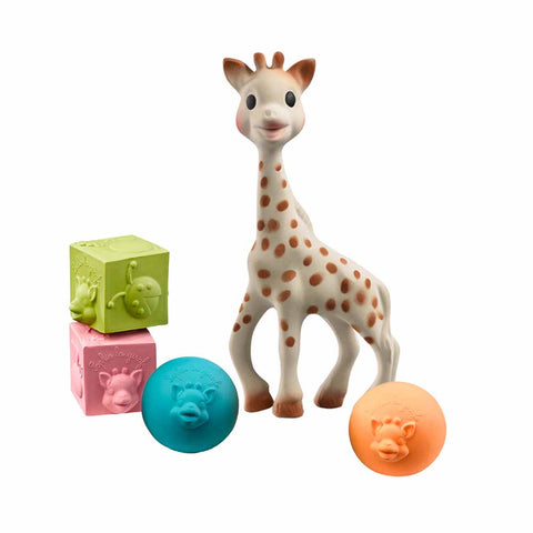 Sophie la girafe Teether & So-Pure Ball & Cube Set