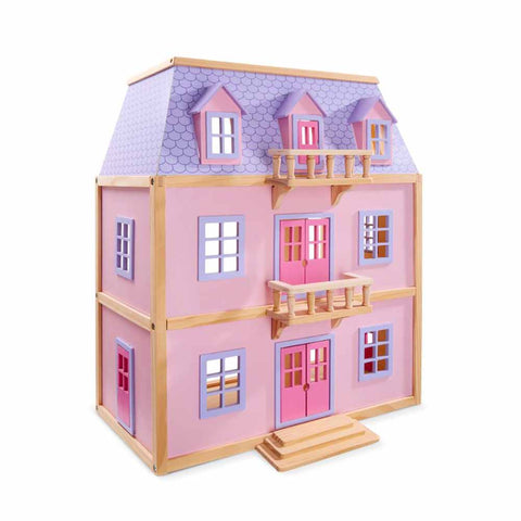 Multi-Level Wooden Dollshouse