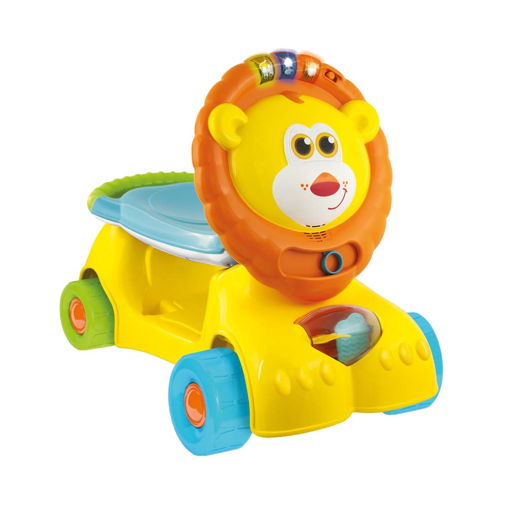 3-in-1 Grow with Me Lion Scooter