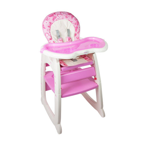 2-in-1 Feeding Chair - Pink