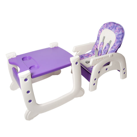 2-in-1 Feeding Chair - Purple