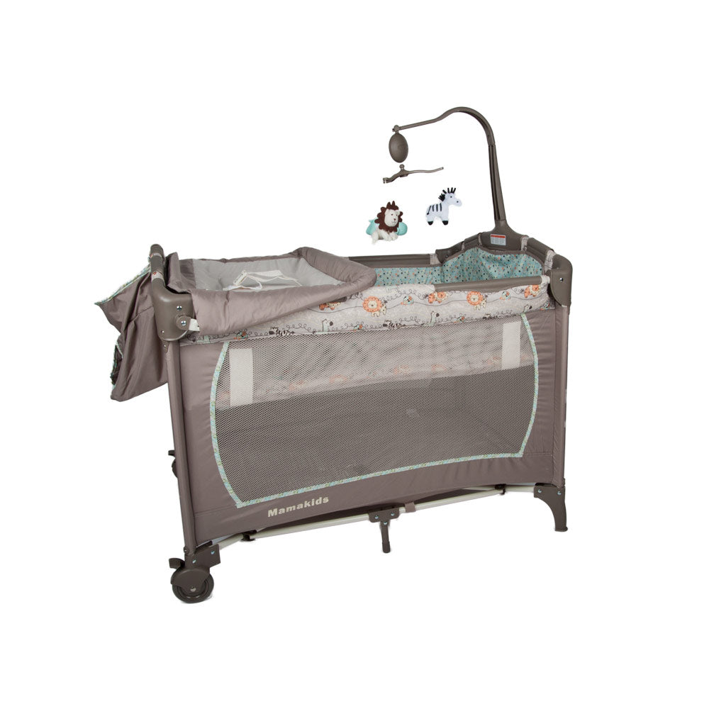 Cozy Camp Cot - Blue Safari
