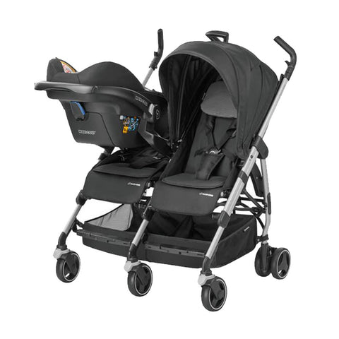 Dana For2 Twin Stroller - Black