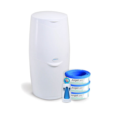 Nappy Disposal System & Refills - White