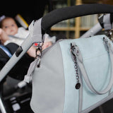 Nappy Bag - Charmaine Blue & Grey