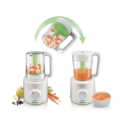 Wasabi Combined Steamer & Blender