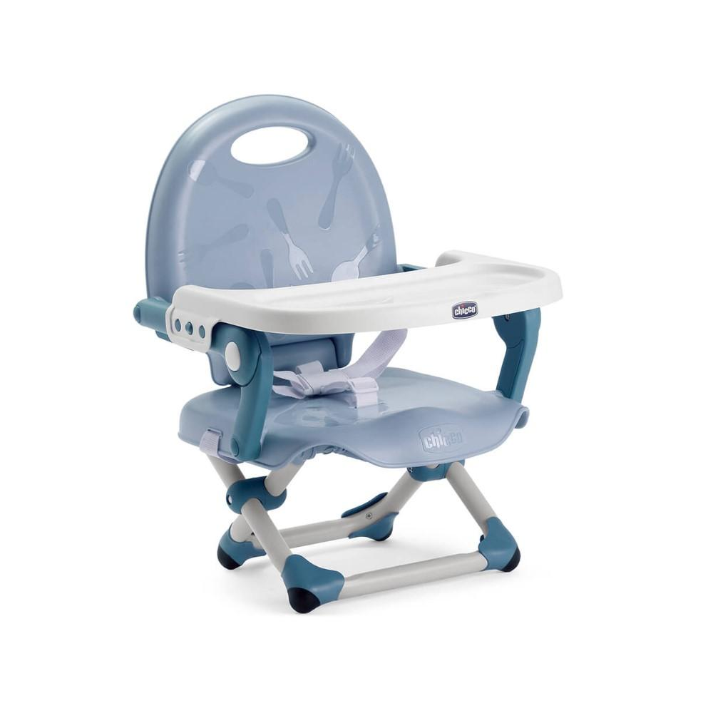 Pocket Snack Booster Seat - Sky Blue