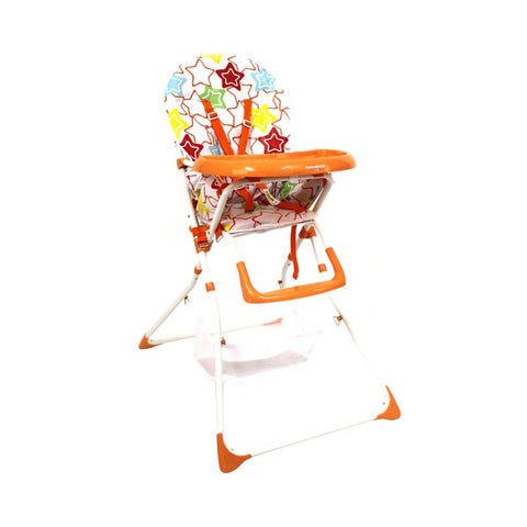 Nibble Lite Feeding Chair - Orange Star