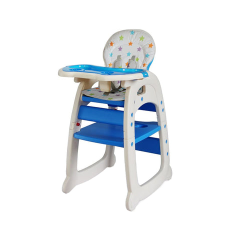 2-in-1 Feeding Chair - Blue
