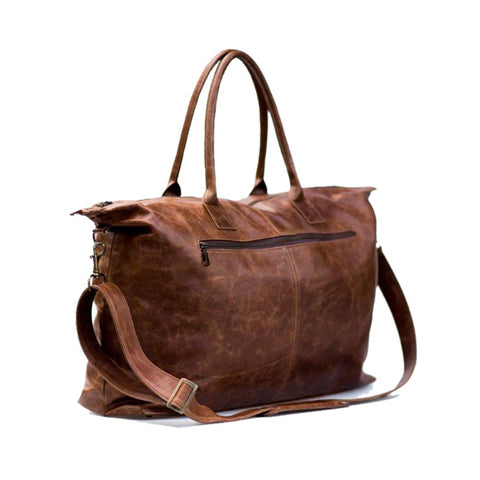 Leather Toddler Bag - Brown